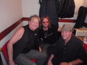 Glenn, Marc Bonilla, Tommy Suczek backstage